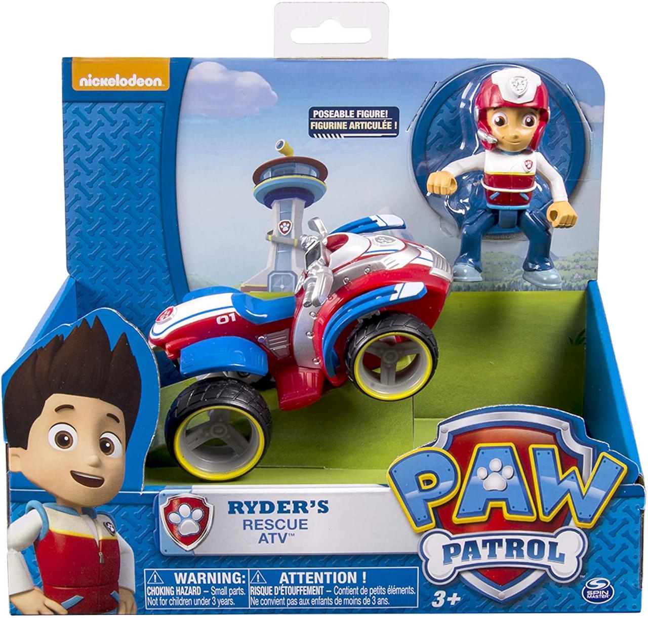 Щенячий патруль Райдер и спасательный квадроцикл Paw Patrol Ryder´s