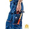 Костюм рабочий утепленный защитный AURUM 4S BLUE Куртка+Брюки на утепленной подкладке (спецодежда, флис), фото 8
