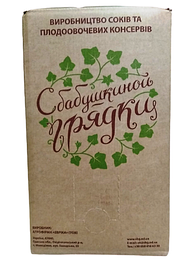 "Сік томатний ""С Бабушкиной грядки"" Bag-in-Box 10 кг"
