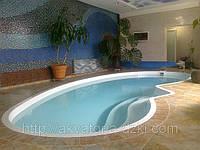Стекловолоконный бассейн Венеция 7,50х3,50х1,00-1,70м