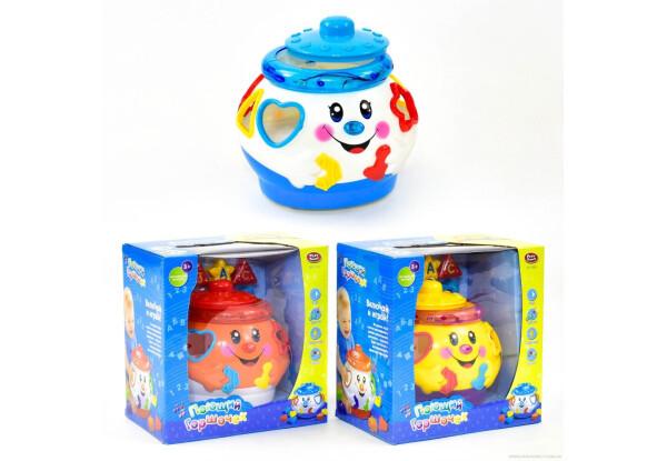 Развивающая музыкальная игрушка сортер Музыкальный горшочек 0915 Limo Toy