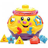 Развивающая музыкальная игрушка сортер Музыкальный горшочек 0915 Limo Toy, фото 2