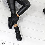 Угги женские зимние черные А1494, фото 2