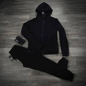 Костюм мужской спортивный Cosmo Intruder черный Кофта толстовка + штаны + Подарок, фото 2