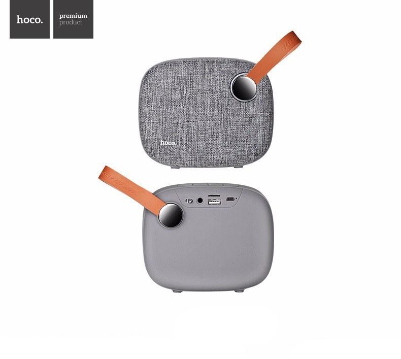 Портативная колонка Hoco BS8 plain textile