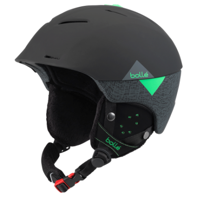Гірськолижний шолом Bolle synergy 31484 black green (58-61)