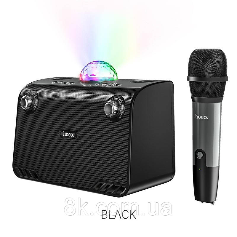 Портативная колонка Колонкa HOCO BS41 Warm Sound K Song wireless speaker