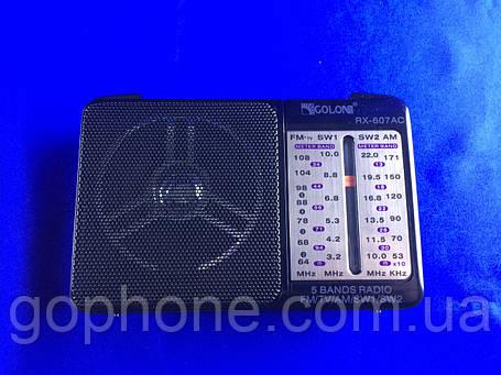 Современный Радиоприемник GOLON RX-607, фото 2
