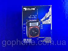 Качественный Радиоприемник GOLON RX-9122 Синий, фото 2