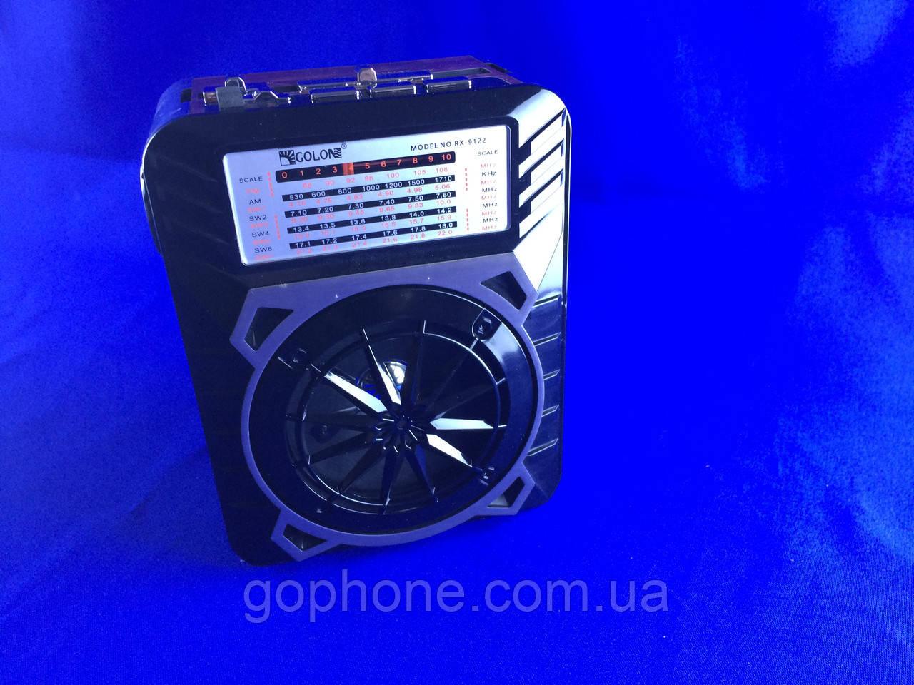 Качественный Радиоприемник GOLON RX-9122 Синий