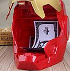 Сейф-копилка Железный человек с кодовым замком и приемником купюр, интерактивная детская игрушка копилка сейф, фото 4
