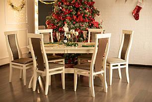 Обідній комплект: стіл Версаль і стільці Міран ТМ Марко