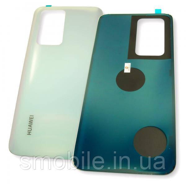 Стекло задней крышки Huawei P40 Pro белого цвета (оригинальные комплектующие)