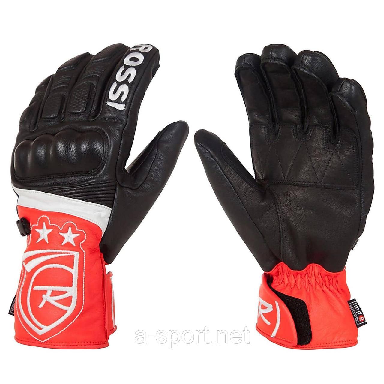 Гірськолижні рукавиці Rossignol WC Hero L Black-Red