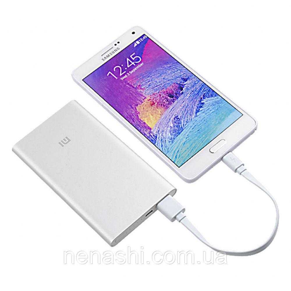 Внешний аккумулятор (Power Bank) Xiaomi Mi Power Bank 2 5000mAh Silver ORIGINAL