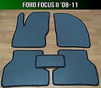 ЕВА коврики на Ford Focus II '08-11. Автоковрики EVA Форд Фокус 2