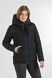 Зимняя молодежная куртка Синди цвет черный, размер 42- 50 46