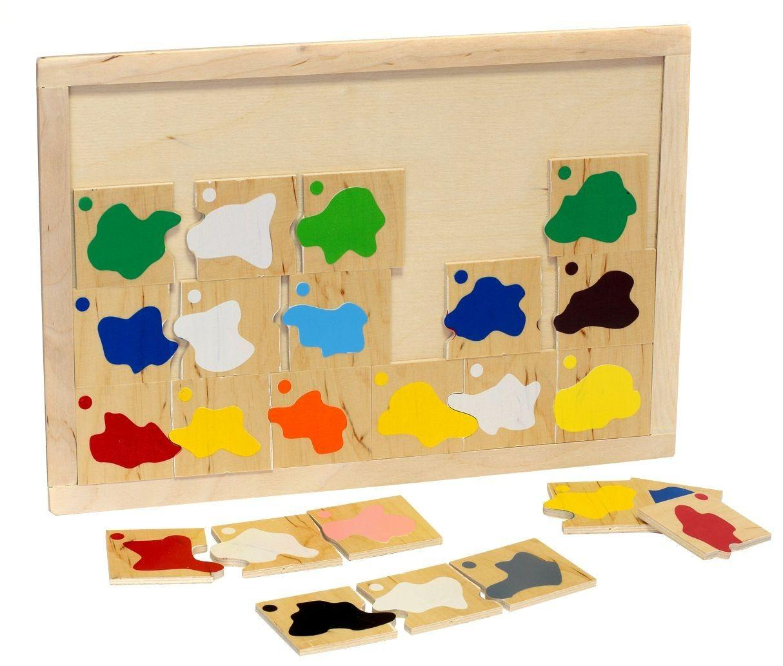 Классификация Смешивание цветов 24 детали 33.50х23.50х0.90
