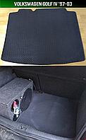ЕВА коврик багажника на Volkswagen Golf IV '97-03. Автоковрики EVA Фольксваген Гольф 4 Фольцваген