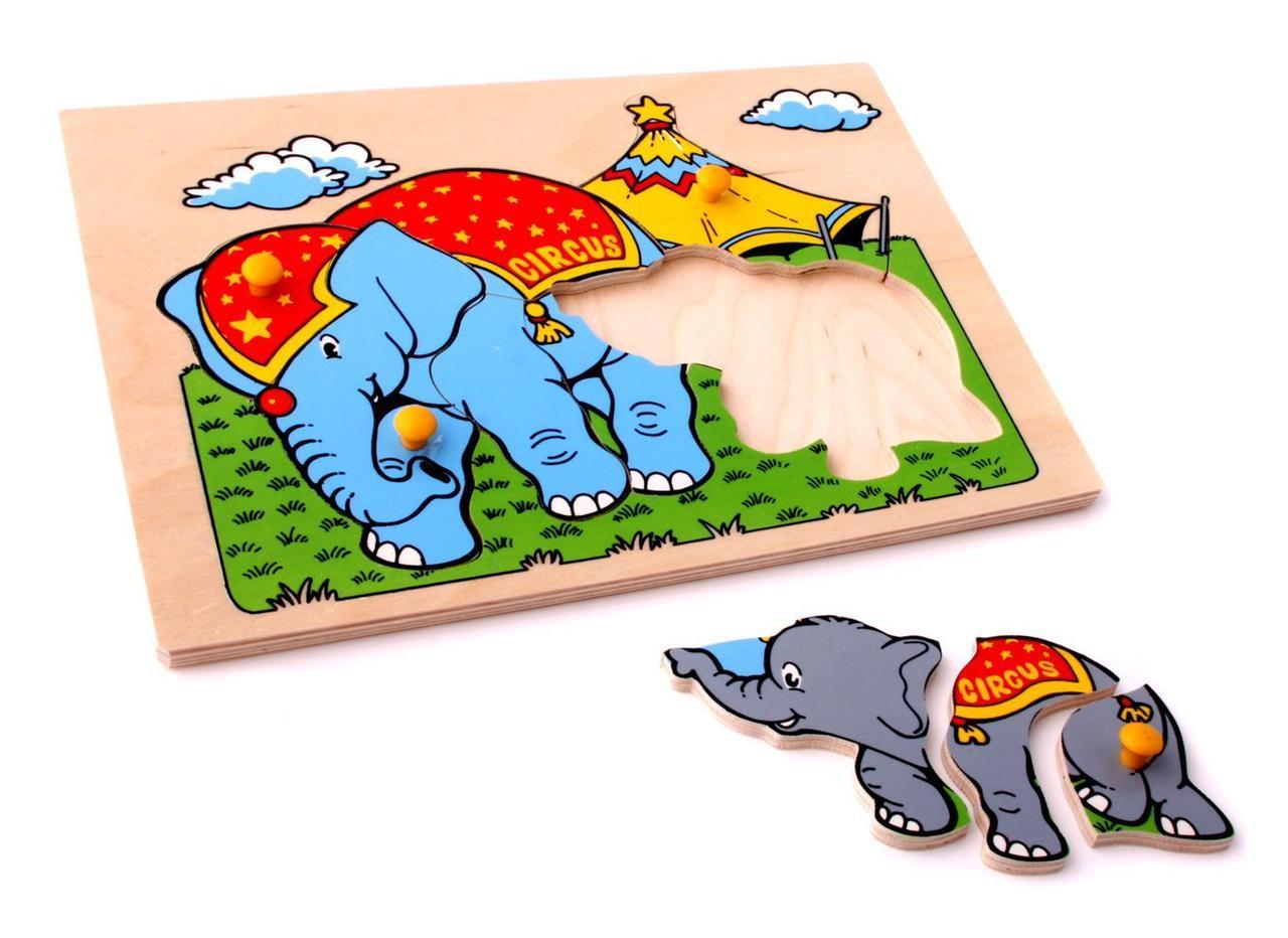 Мозаика Слоны 9 деталей 29.50х20.50х0.90
