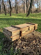 """Набор шампуров """"Рыцарь"""" Gorillas BBQ в деревянной коробке, фото 3"""