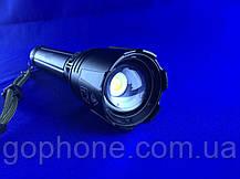 Мощный и яркий ручной фонарь BL-L6-P90 (3 режима работы), фото 2