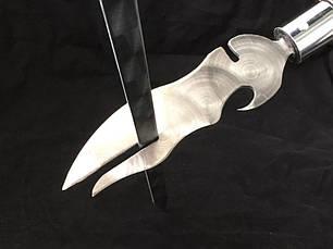 Вилка-нож для шашлыка (заклепка), фото 3