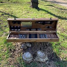 """Набор шампуров """"Лось"""" Gorillas BBQ в деревянной коробке, фото 3"""
