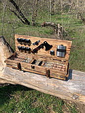 "Набор шампуров ""Витязь"" Gorillas BBQ в деревянной коробке, фото 2"