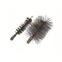 Аксессуары для чистки котлов и дымоходов Ершик стальной для чистки теплообменника котла,Ø70 мм