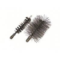 Аксессуары для чистки котлов и дымоходов Ершик стальной для чистки теплообменника котла,Ø80 мм