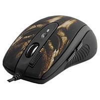 Мышь A4 XL-750BH игровая, 3600dpi, USB, змеиная кожа, чёрно-коричневый, фото 2