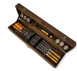 """Набор шампуров """"Косуля"""" Gorillas BBQ в деревянной коробке, фото 2"""