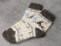 Подростковые носки из козьего пуха, носки 20-24 см, фото 1