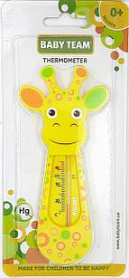 """Термометр для воды """"Жирафа"""" BabyТeam, 0+, арт. 7300"""