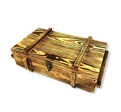 """Подарочный набор """"Выживший"""" Gorillas BBQ в деревянной коробке, фото 2"""