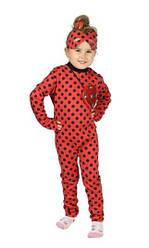 Детский карнавальный костюм ЛЕДИ БАГ на 4,5,6,7,8 лет для девочки, костюм ледибаг герои в масках