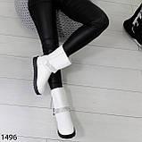 Угги женские зимние белые А1496, фото 5