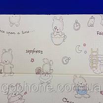 Детский игровой напольный двусторонний Children GO 180* 150 , двусторонний, с рисунками и текстурным покрытием, фото 2
