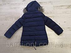 Зимова куртка-пальто на дівчинку оптом, Glo-story, 134/140-170 рр, фото 3