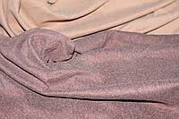 Ткань джерси ,цвет мокко, стрейч, теплая. плотный. (плотность 280 гр/см), фото 1