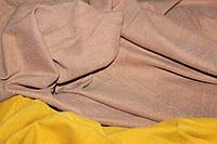 Ткань джерси ,цвет беж теплый, стрейч, теплая. плотный (плотность 280 гр/см), фото 1