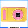 Детский цифровой фотоаппарат Smart Kids Camera V7 Розовый | Детская цифровая камера, фото 3