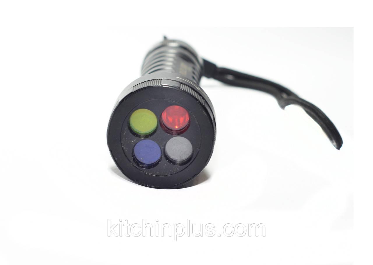 Четырехцветный подствольный фонарь Bailong Police BL-Q9843