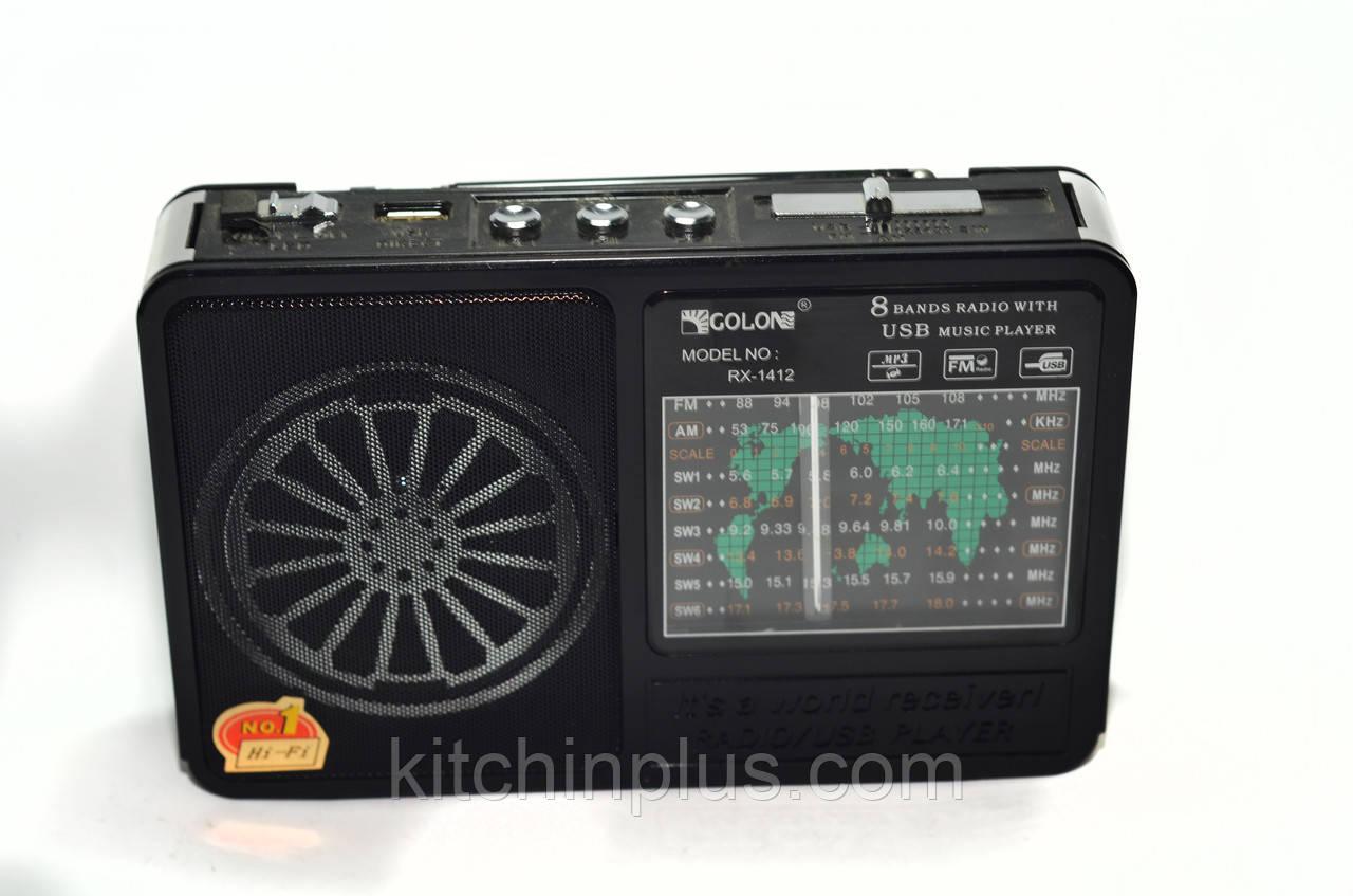 Радіоприймач GOLON RX 1412