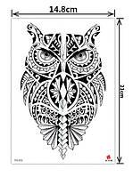 Тату наклейка на тело, Флеш тату, Водостойкая временная татуировка, коллекция 2020 года, TH-553