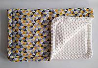 Одеяло плед ПЛЮШ детское минки MINKY, хлопок, микрофибра, дитяче покривало плед, ковдра для новонароджених, фото 1