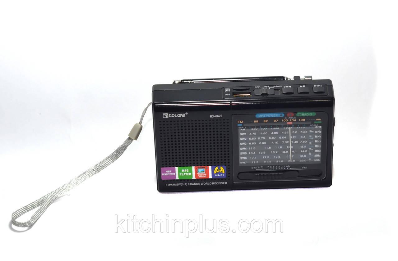 Радиоприемник RX-6622 GOLON