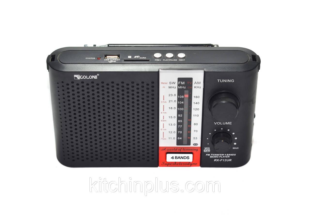 Радиоприемник портативный  Golon RX-F12UR