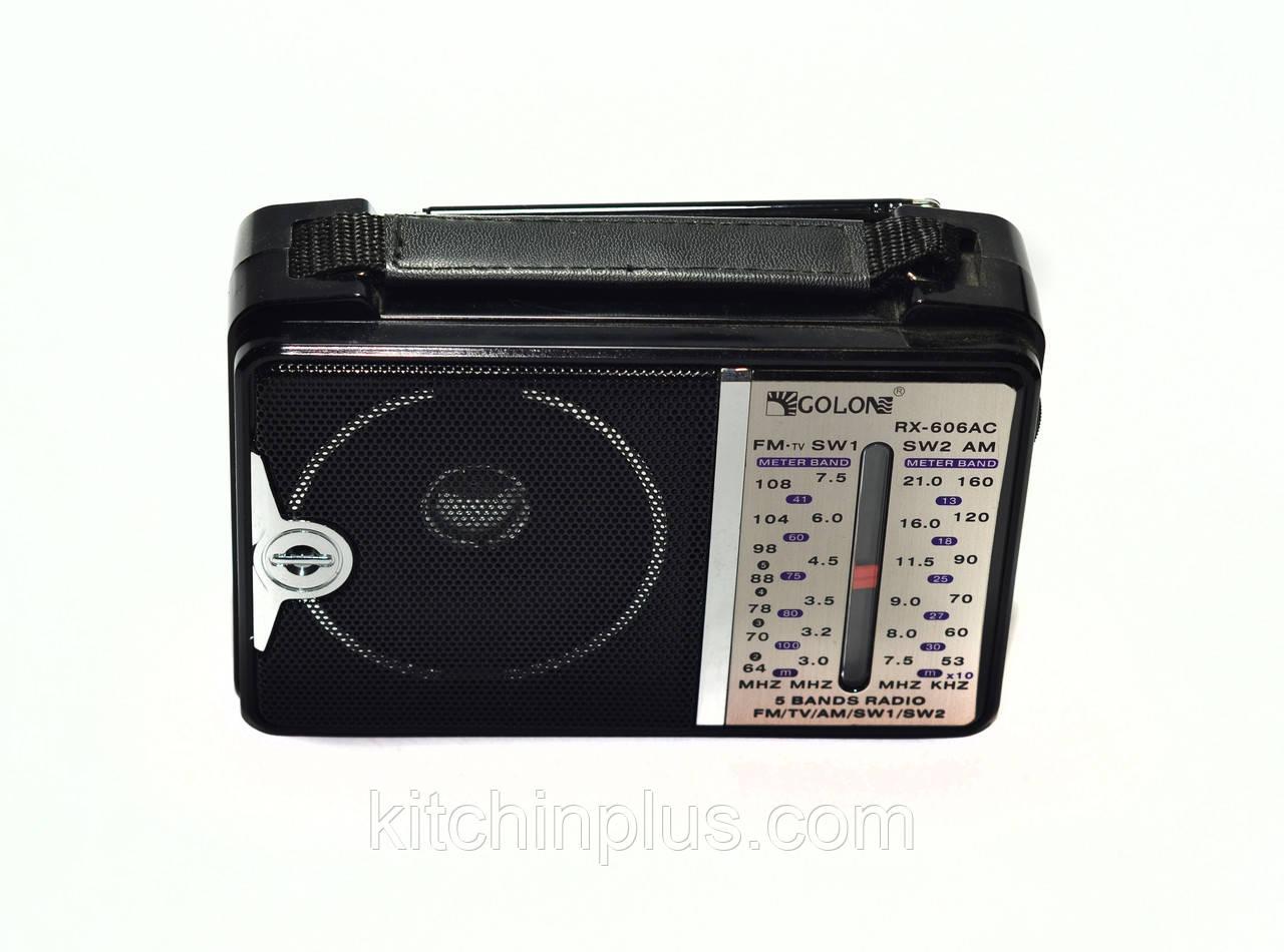Радиоприемник RX-606AC GOLON